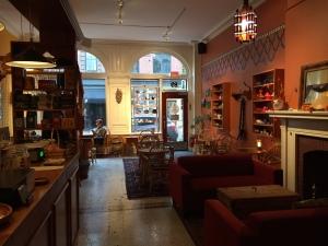 Front interior of tearoom